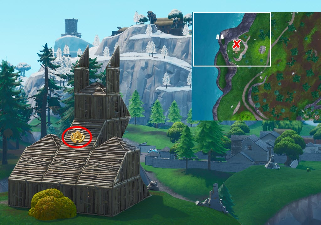 Fortnite Season 8 Week 7 Secret Battle Star Location
