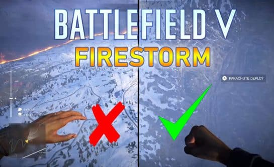 How to Glide Faster in Firestorm Battlefield V