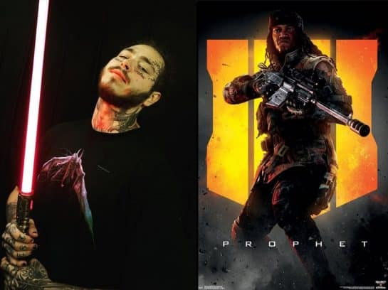 If you Kill Post Malone in Black Ops 4, You Will Get Banned