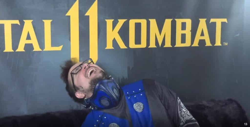 Mortal Kombat 11 Real Life Fatality Fatalities Twitch Stream