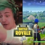 Ninja Does Perfect Harvesting Imitation Fortnite Battle Royale