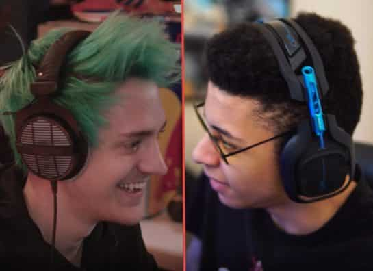 Ninja and Myth Fortnite