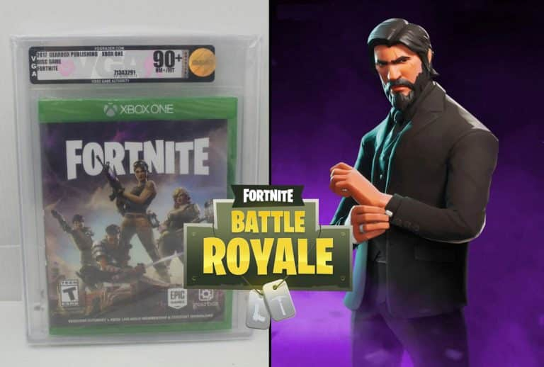 Physical Copies of Fortnite Are Selling for $300. Becoming Collectors Items