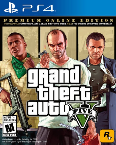 Ps4 GTA 5 Games with Issues Identified