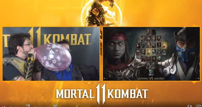Streamers Do Real Life Mortal Kombat 11 Fatalities FantaBobShow