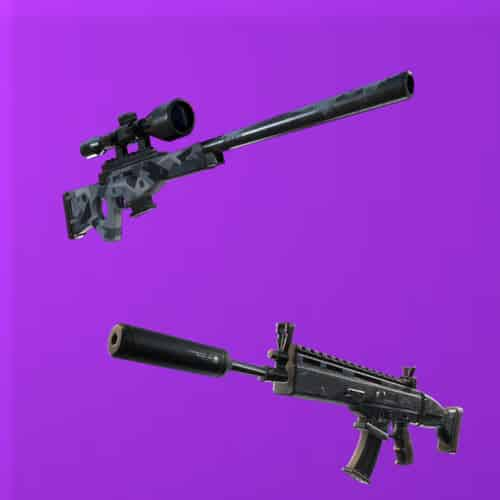 Suppressed Sniping Fortnite Tips