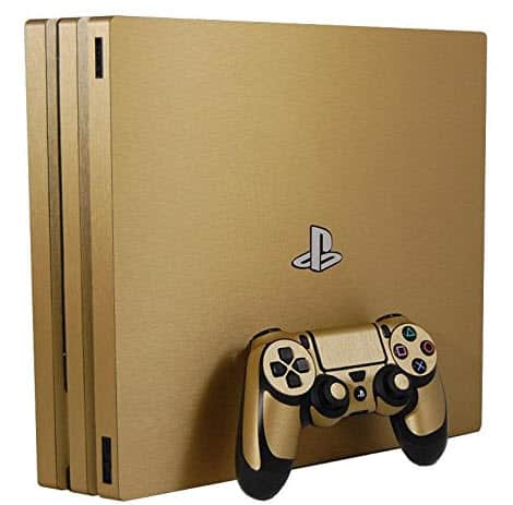 The Popular Gold Skin PS4 Pro