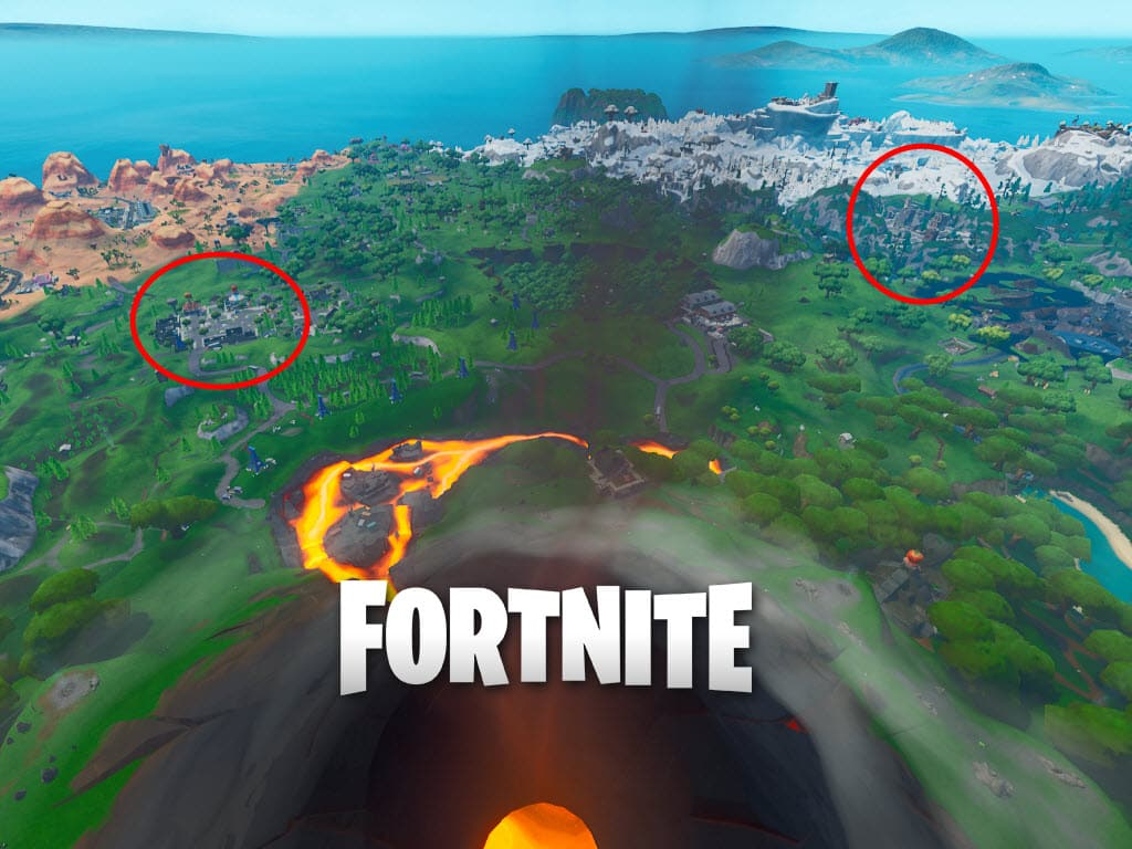 Tilted Towers and Retail Row destroyed