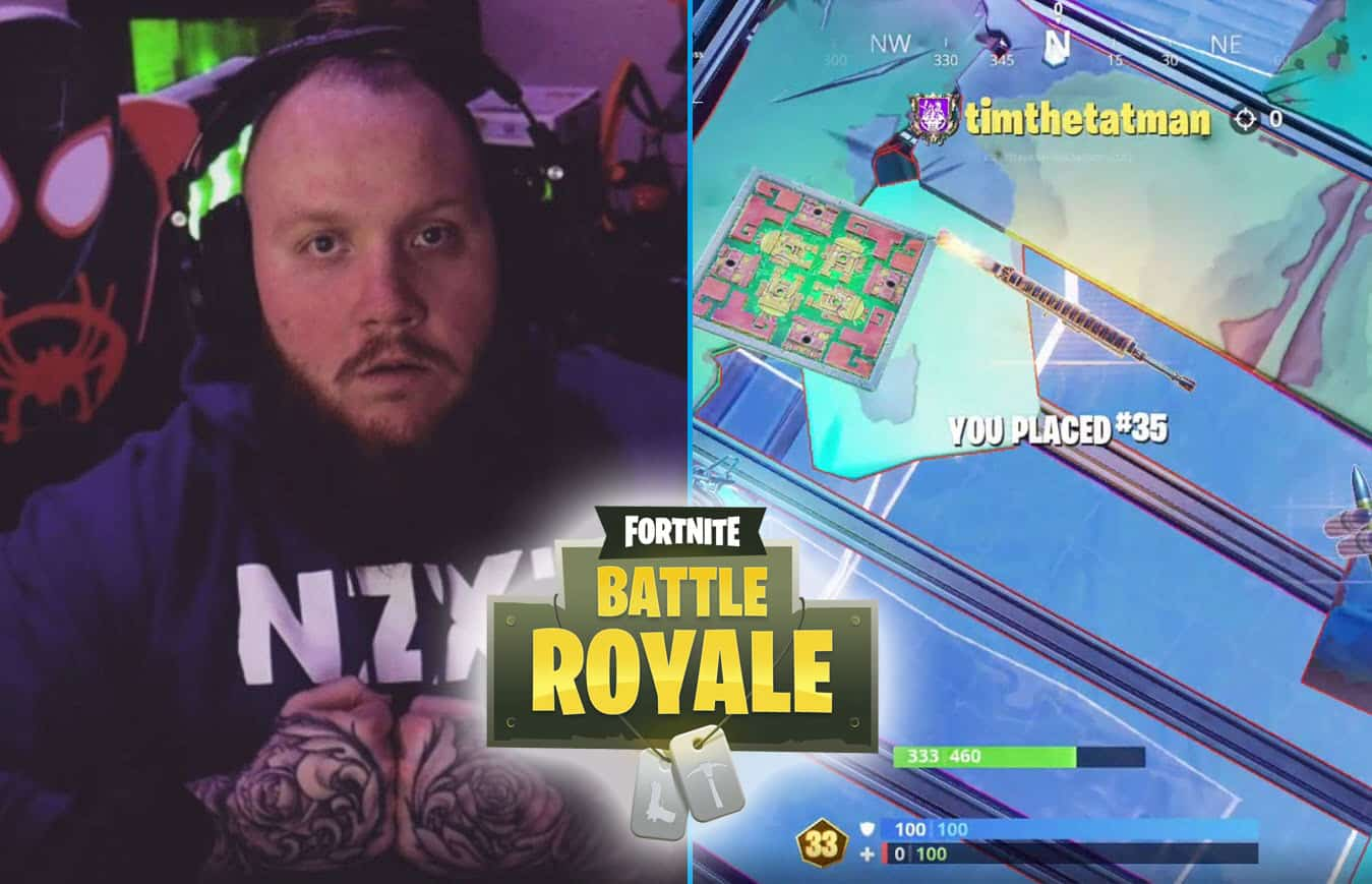 TimTheTatman Dies in Fortnite World Cup Qualifiers. Might Not Qualify.