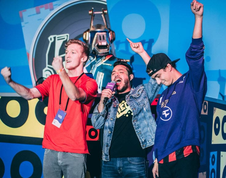Twitchcon winners tfue and cloak