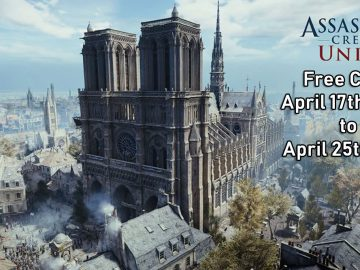 Ubisoft Offers Assassin's Creed Unity Free and Donates €500,000 for Notre Dame