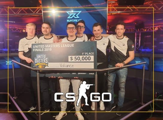 Valiance Wins United Masters League Season 1 CSGO
