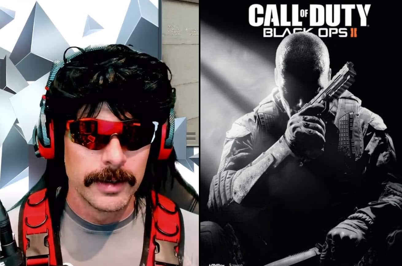 What's Dr Disrespect's Favorite Weapon in Call of Duty of All Time