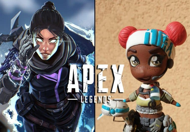 Winners of the Apex Legends Season 1 Fanart Challenge
