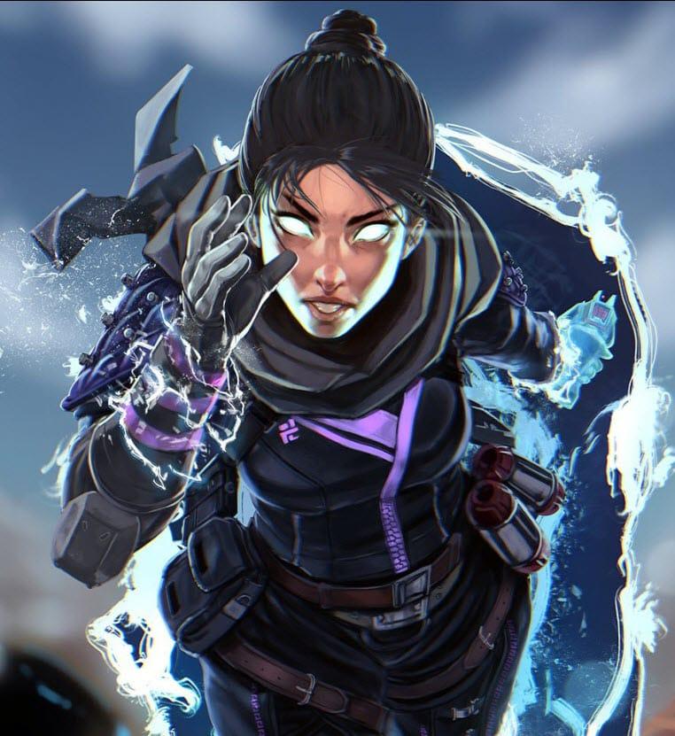 Wraith Season 1 Fanart Challenge