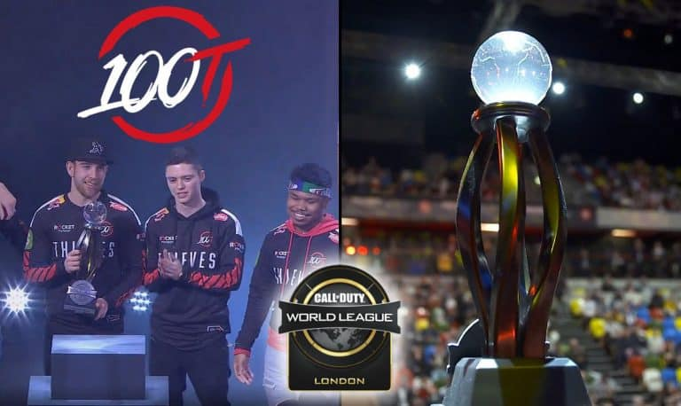 100 Thieves CWL London Champions - Win First Esports Title