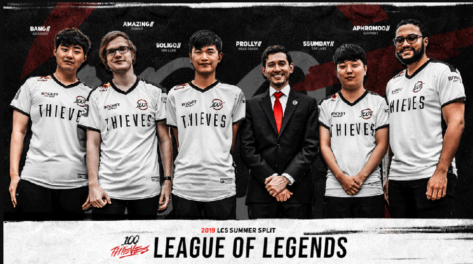 100 Thieves League of Legends 2019