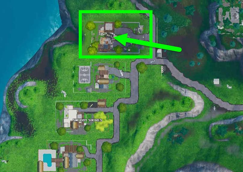 Accessible by Using the Sad Trombone Emote at the North End of Snobby Shores