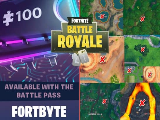 All Fortnite Season 9 Fortbyte Locations