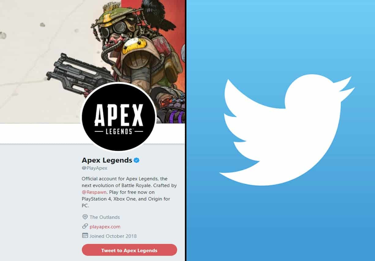 Apex Legends Official Twitter Account Hilariously Deals With Troll