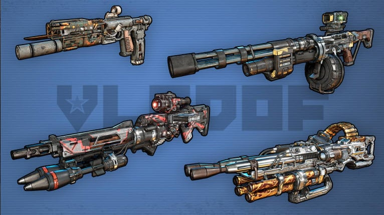 Borderlands 3 Gun Weapon Vladof