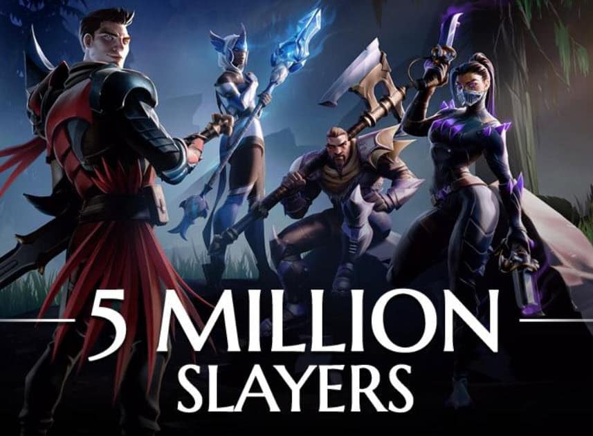 Dauntless Passed 5 Million Players