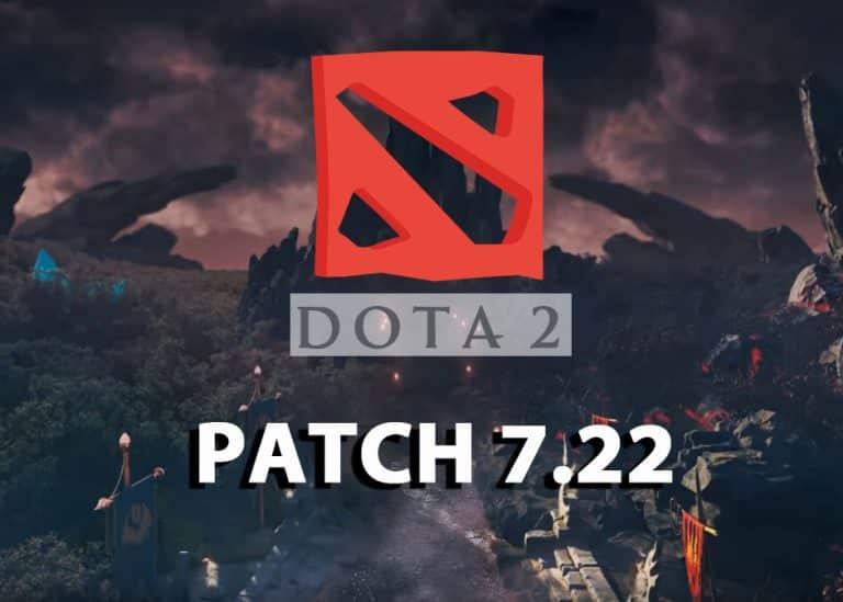 Dota 2 Gameplay Update - 7.22 Patch