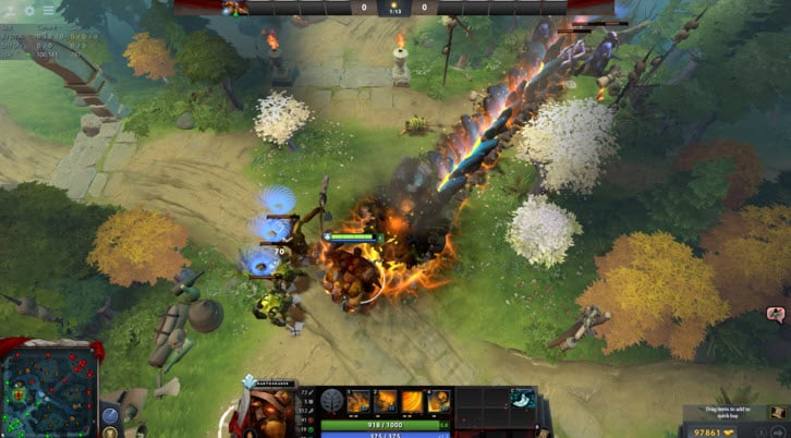 Farming And Skill Build Dota 2 Earthshaker
