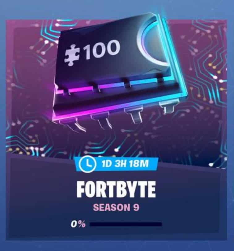 Fortnite Fortbytes Tag
