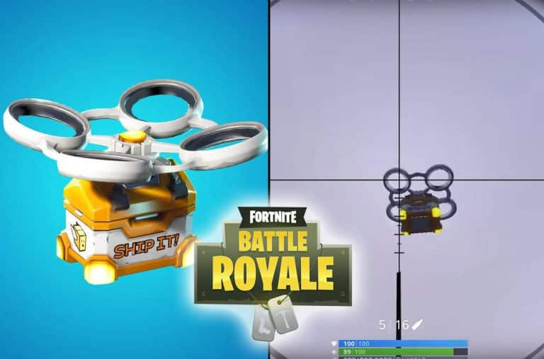 Fortnite Hotspots, Loot Carriers Introduced