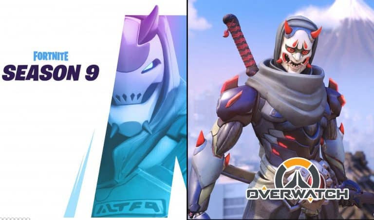 Fortnite Season 9 First Teaser Revealed Overwatch Oni