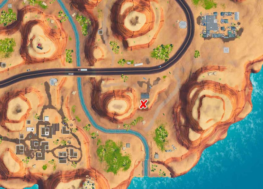 All Fortnite Season 9 Secret Battle Star And Banner Locations Game Life