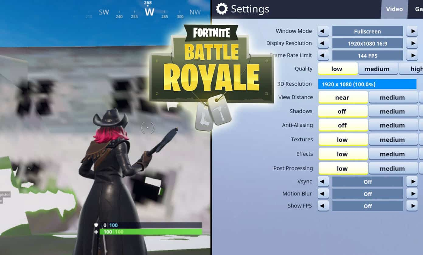 How to Fix The Fortnite Texture Issues - Game Life