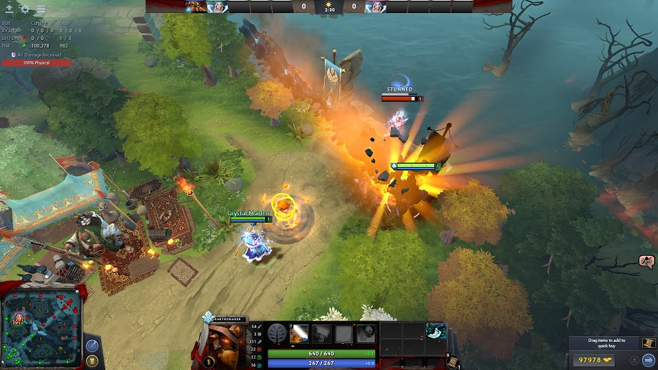 Level 12 presence Dota 2 Earthshaker
