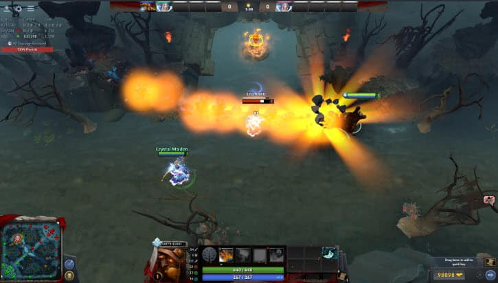Level 4 presence Dota 2 Earthshaker
