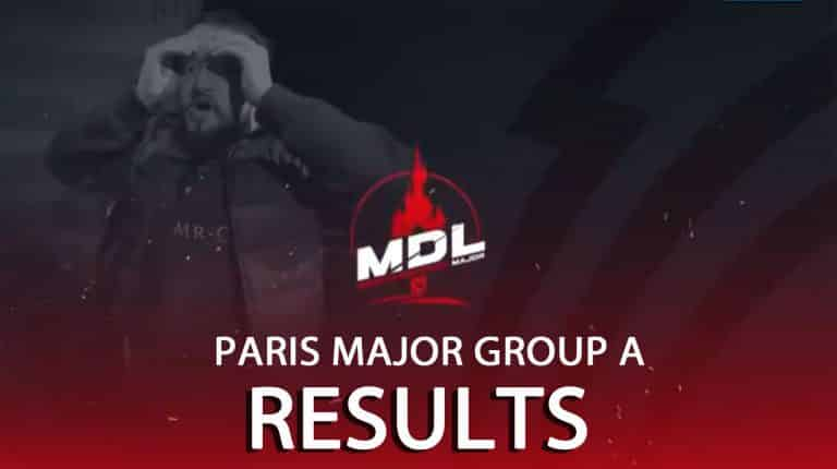 MDL Disneyland Paris Major Group A Results