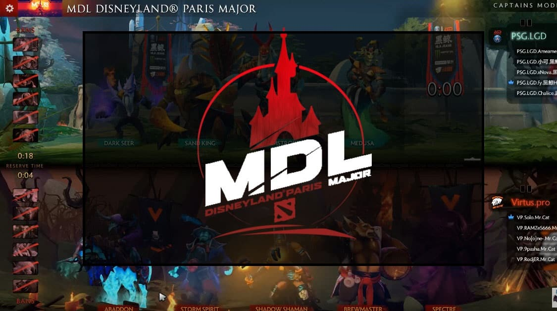 MDL Disneyland Paris Major Second Round Loser Bracket [Recap]
