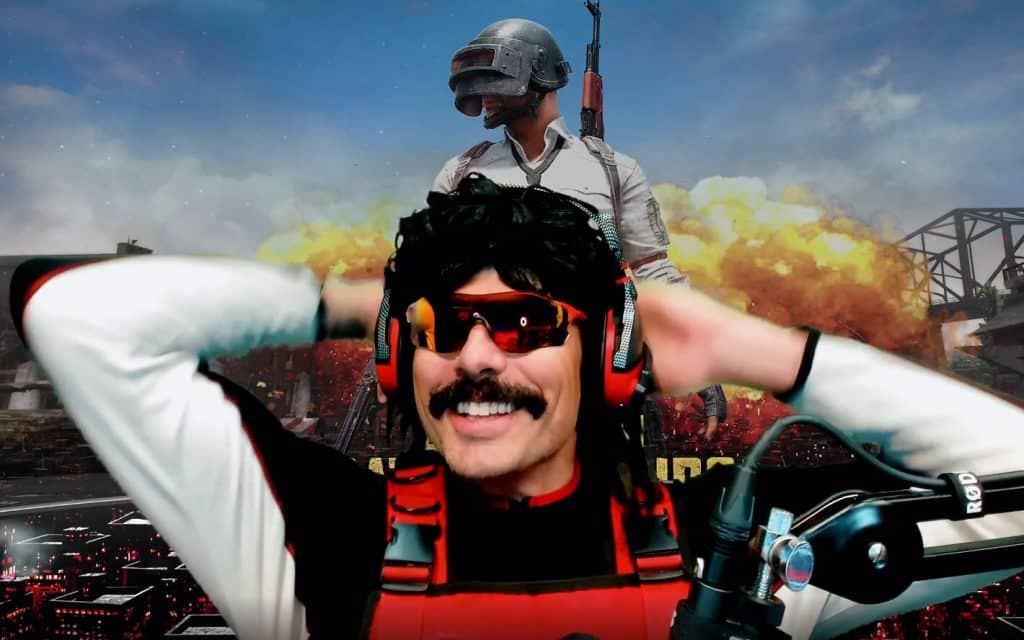 Makeup Dr Disrespect Wearing on Twitch Stream