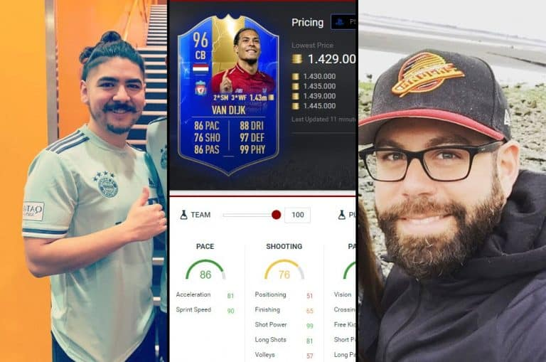 Nick28T And Castro1021 Get TOTS Van Dijk, Two Opposite Reactions