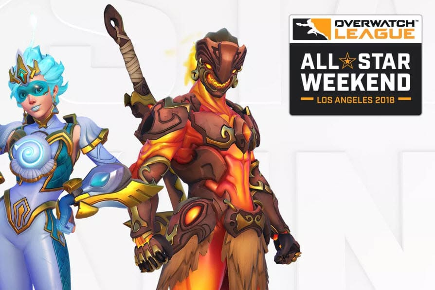 Overwatch League Blizzard Skins