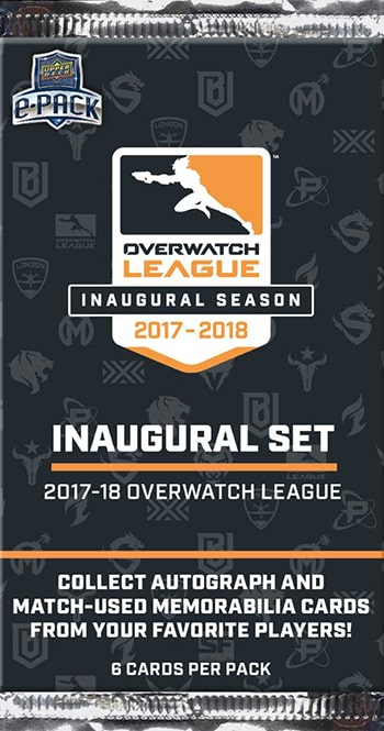 Overwatch League Upper Deck Trading Cards