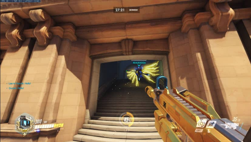 Overwatch Wings glitch