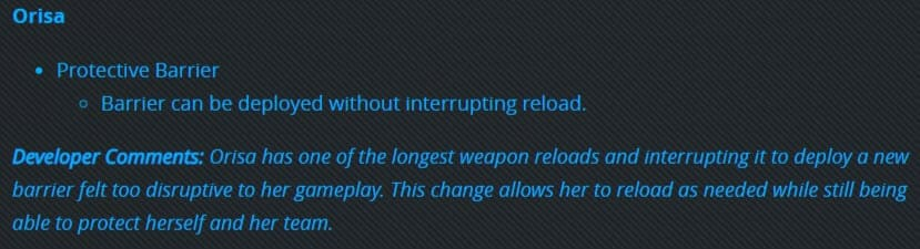 Patch Notes PTR Overwatch 3