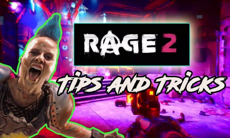 Rage 2 Tips and Tricks A Guide by Bethesda Info