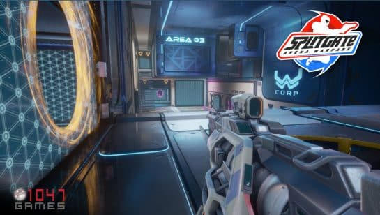 Splitgate Arena Warfare Release Steam on May 22 Free-to-Play