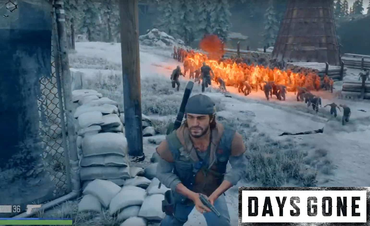 Watch This Insane Freaker Horde Fail in Days Gone