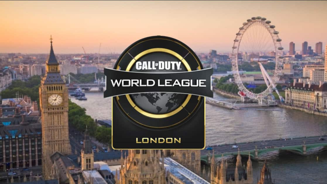 Where to Watch CWL London - Call of Duty Major