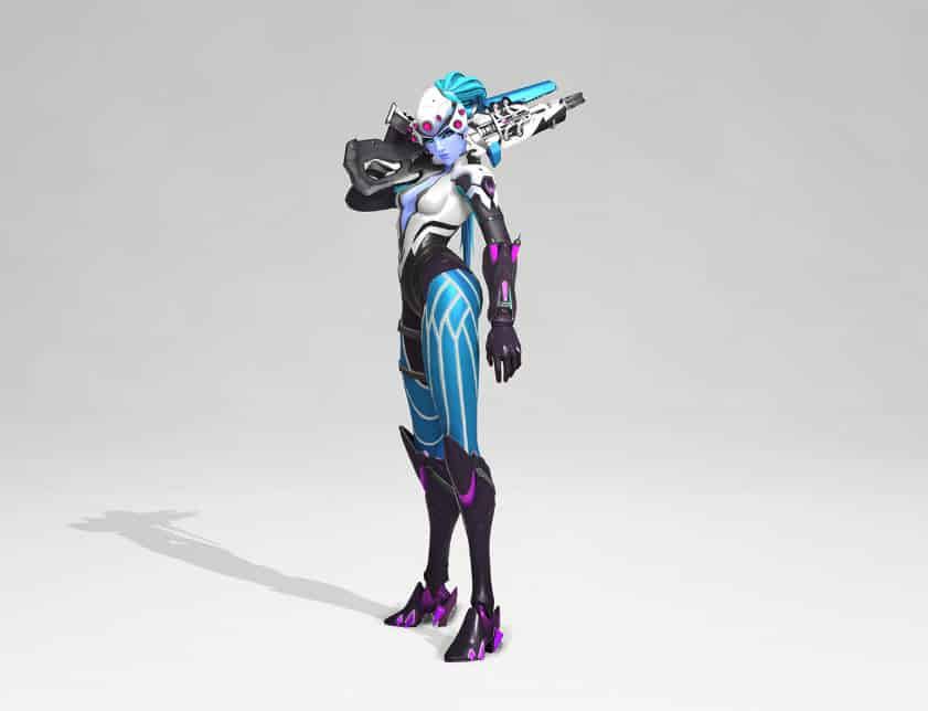 "Widow's ""Electric"" skin"