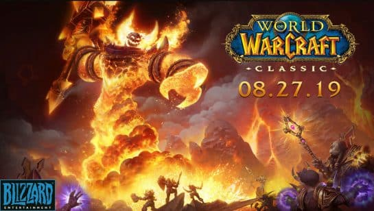 World of Warcraft Classic is Coming August 27