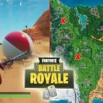All Fortnite Giant Beach Balls Locations